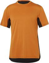 Nike Training - Wool-blend And Jersey Dri-fit T-shirt