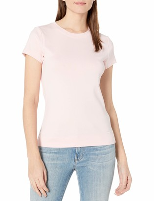 Calvin Klein Women's 100% Cotton Crew Neck T-Shirt