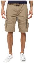 DKNY Mini Ripstop Cargo Shorts in Lead Gray