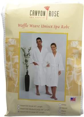 Canyon Rose Unisex Waffle Weave Spa Robe