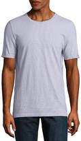 Arizona Roll Sleeve Crew Neck T-Shirt