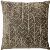 Lene Bjerre Emilia Square Cushion Viscose Cotton Grey Mist