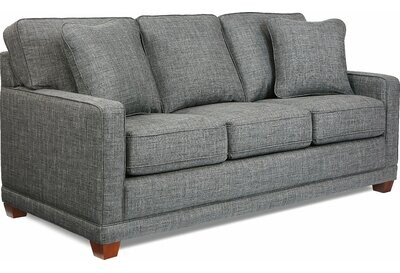 """Thumbnail for your product : La-Z-Boy Kennedy 77"""" Square Arm Sofa with Reversible Cushions"""