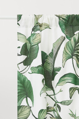 H&M 2 Pack Cotton Curtain Panels