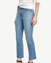 Ann Taylor Tall Modern Kick Crop Jeans