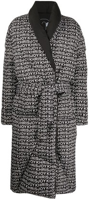 KHRISJOY Quilted Robe Coat