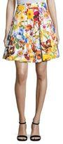 Aquilano Rimondi Floral Printed Skirt