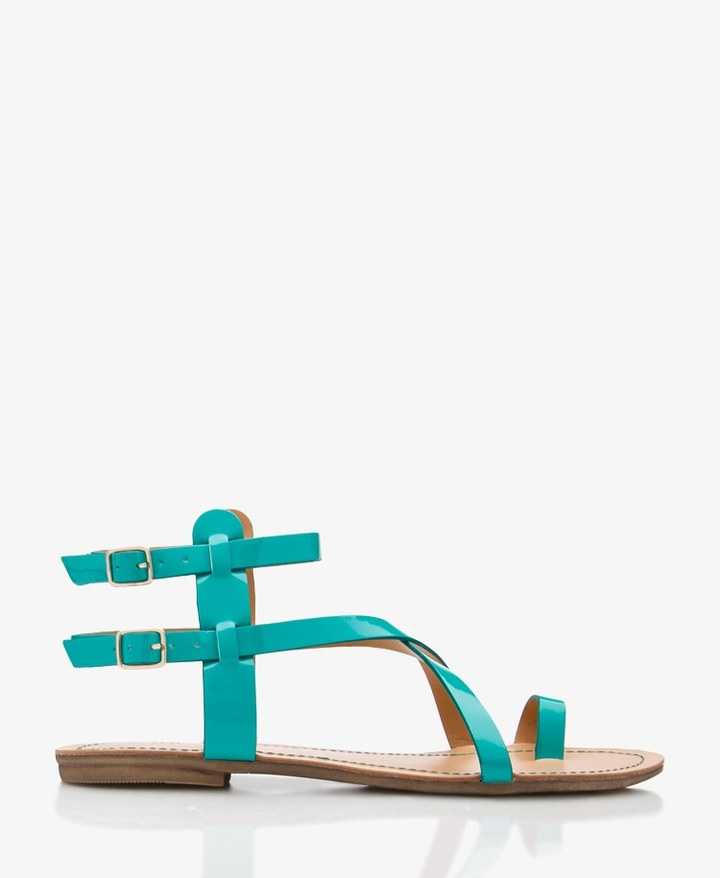 Forever 21 Faux Patent Leather Sandals
