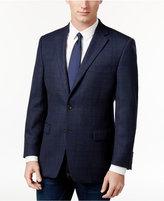 Lauren Ralph Lauren Men's Classic-Fit Navy Windowpane Sport Coat