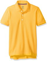 French Toast Husky Boys Short Sleeve Pique Polo