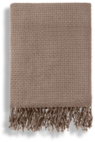A & R Cashmere Cashmere Blend Basket Weave Throw