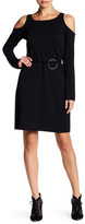 Yoana Baraschi City of Lights Cold Shoulder Mini Dress
