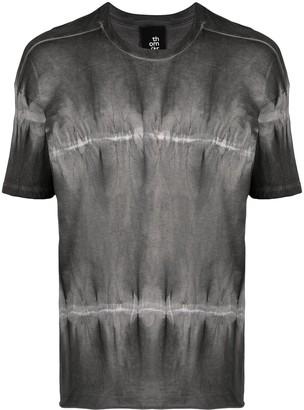 Thom Krom tie-dye stripe T-shirt