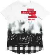 John Galliano Singer Print Cotton Jersey T-Shirt
