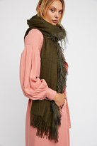 Nicholas K Mongolian Fur Scarf by at Free People