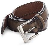John Varvatos Soft Fade Leather Belt