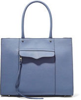 Rebecca Minkoff Mab studded textured-leather tote