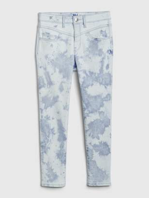 Gap Kids High Rise Tie-Dye Jeggings with Stretch