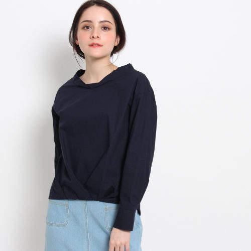 Dessin (デッサン) - Dessin(Ladies) 【洗える】裾タックタイプライターシャツ