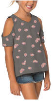 O'Neill Girls' Nomad Floral Top - Graphite T-Shirts