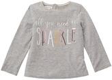 Mud Pie Sparkle Long Sleeve Shirt Girl's Clothing