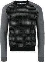 Kenzo intarsia jumper - men - Cotton/Polypropylene - M