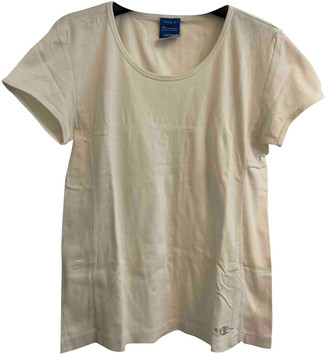 Champion White Cotton Tops