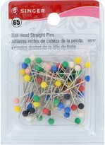Singer Size 17 Safety Pins, 65/Pack