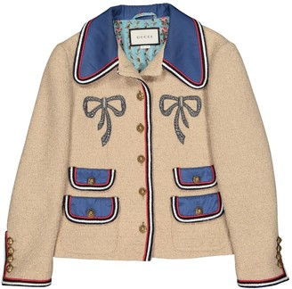 Gucci Beige Wool Jackets