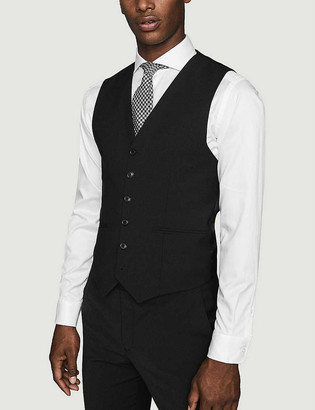 Reiss Hope modern-fit wool-blend waistcoat
