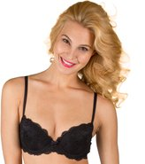 Candies Juniors' Candie's® Bra: Lace Push-Up Balconette Bra
