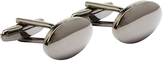 Oxford Cufflinks Oval Gunmetal