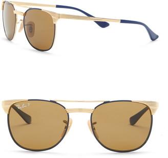 Ray-Ban Polarized 47mm Aviator Sunglasses