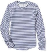 Old Navy Striped Ruched-Sleeve Rashguard for Girls