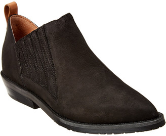 Gentle Souls By Kenneth Cole Neptune Western Suede Bootie