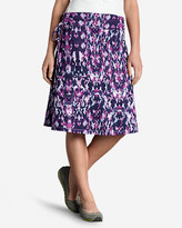 Eddie Bauer Women's Aster Convertible Dress To Skirt - Print