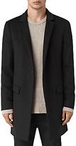 Allsaints Allsaints Fido Wool Silk Coat, Black