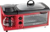 Nostalgia Electrics Retro Series 3-in-1 Breakfast Station - Red