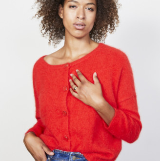 MARIE SIXTINE - Ewan Sweater - XS/S | wool | red - Red/Red