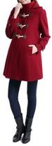 Kimi and Kai Women's 'Paisley' Maternity Duffle Coat