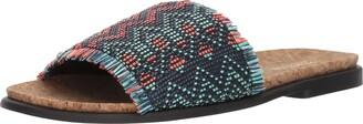 Kenneth Cole Reaction Women's Jel-OUS 2 Woven Slip On Slide Sandal