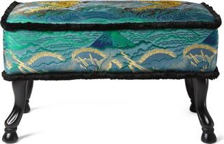 Gucci Tiger jacquard stool
