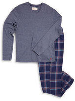 Original Penguin Flannel Pajama Set