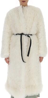 Givenchy Fur Belted Coat