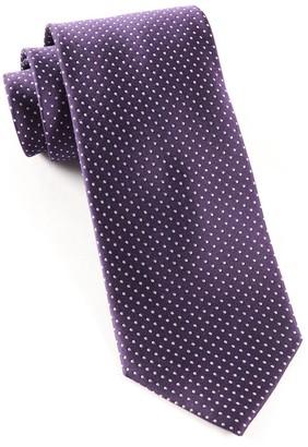 The Tie BarThe Tie Bar Eggplant Pindot Tie