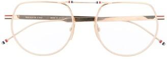 Thom Browne Aviator Frame Glasses