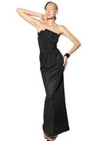 Giorgio Armani Swarovski Heavy Silk Jersey Long Dress