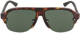 Gucci Aviator-Style Acetate Sunglasses
