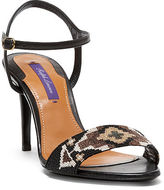 Ralph Lauren Arlise Beaded Nappa Sandal