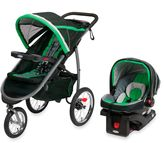 Graco FastActionTM Fold Jogger Click ConnectTM Travel System in Fern